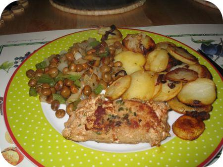 Kapucijners met Hollandse aardappelschotel