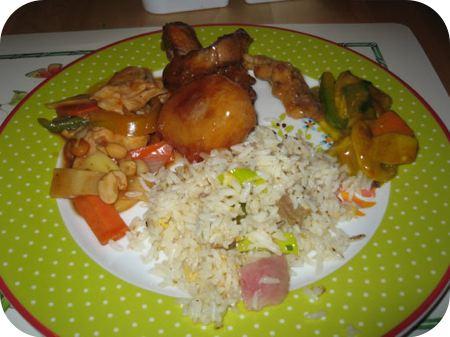 Chinees en Indische rijsttafel