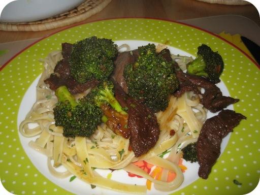 Oosterse Broccoli met Biefreepjes