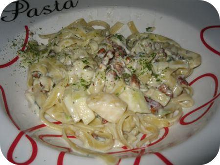 Pasta met Gorgonzola, Peer en Pecannoten