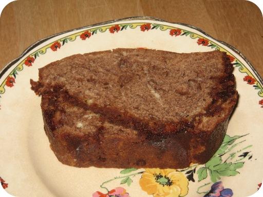 Plakje Chocolade Caramel Cake