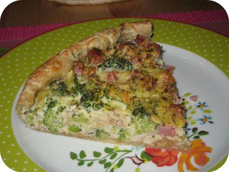 Hartige Broccolitaart