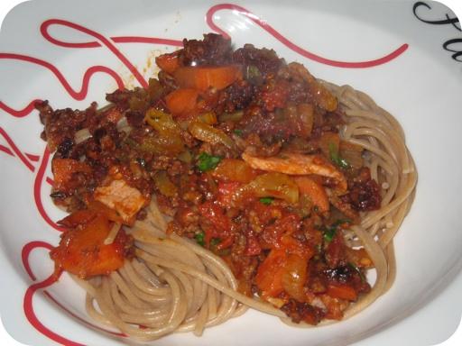 Spaghetti Bolognese Speciale
