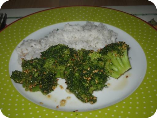 Oosterse Broccoli met Rijst
