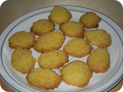 Oranjekoekjes (Sinaasappelkoekjes)