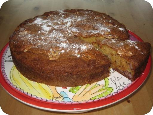 Appel Banaan Cake