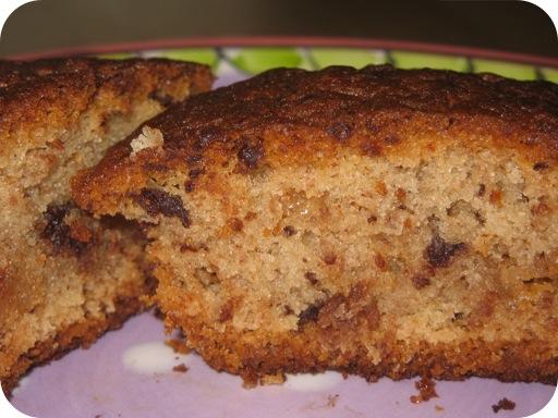 Chocolade Bananencake-jes