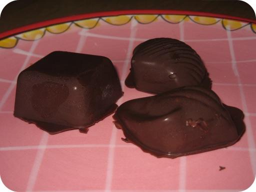 Bonbons met Amandelchocoladevulling