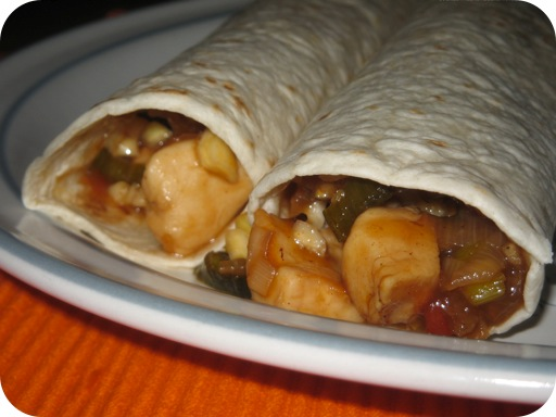 Teriyaki Wraps