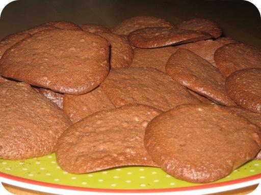 Luchtige Chocoladekoekjes
