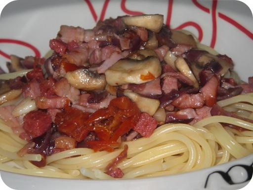 Spaghetti a Carne