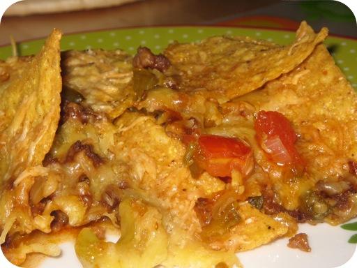 Ovenschotel met Tortillachips