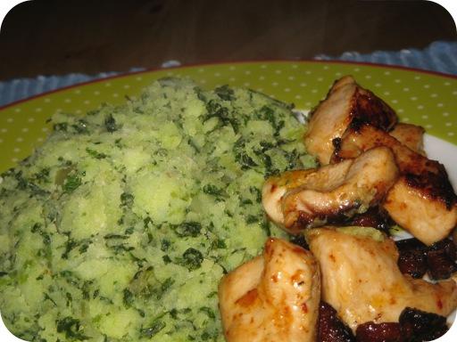 Pittige Boerenkool met Kipfilet en Chorizo