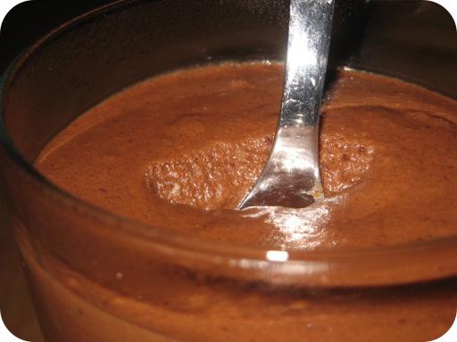 Chocolademousse met Rum