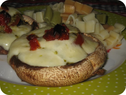 Italiaans Gevulde Portobello's