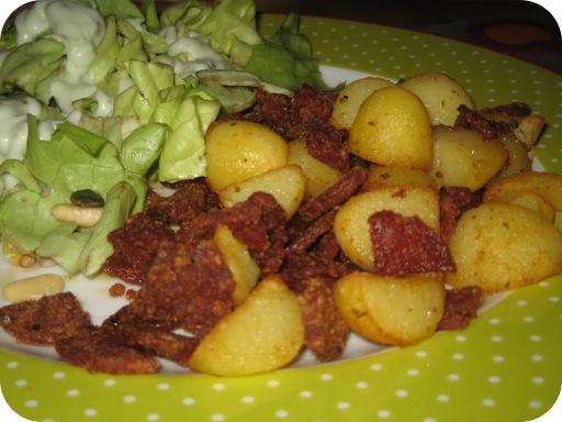 Aardappeltjes met Chorizo