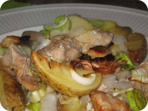 Kip-Aardappelschotel uit de Oven