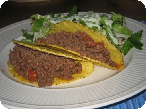 Taco's met Gekruid Gehakt