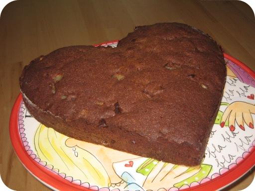 Chocolade-Perentaart