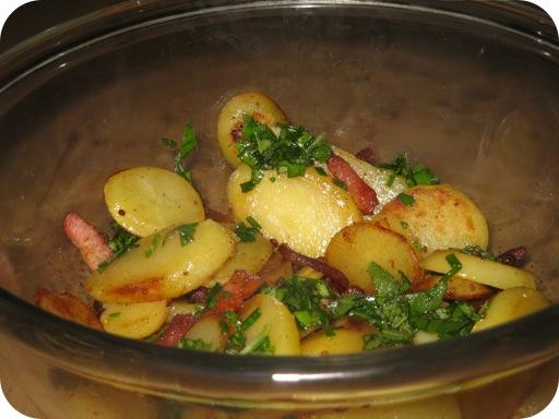 Aardappelsalade met Kruiden