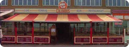 Columbus in Scheveningen