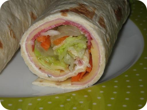Wraps voor Lunch