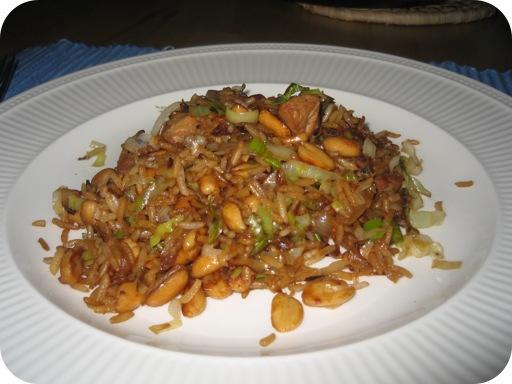 Nasi Goreng met Pinda's