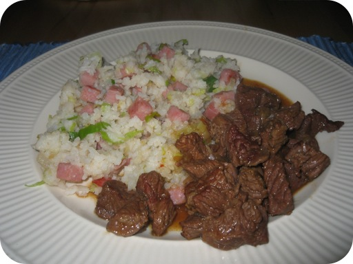 Nasi Goreng met Smoorvlees