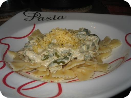 Romige Pasta Pepperonata