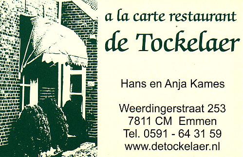 De Tockelaer in Emmen