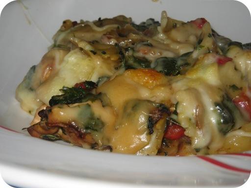 Pasta met Spinazie en Kipfilet uit de Oven