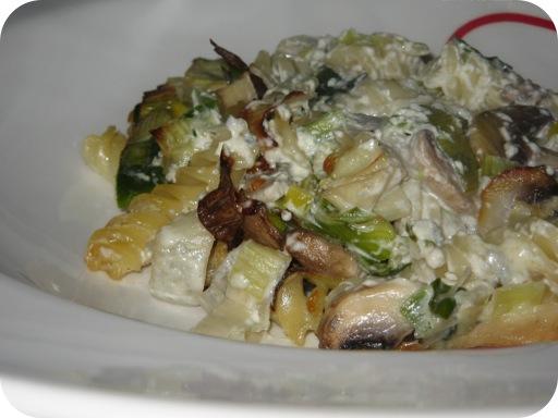 Pasta met Gorgonzola uit de Oven