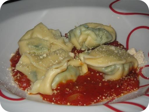 Tortellini met Tomatensaus