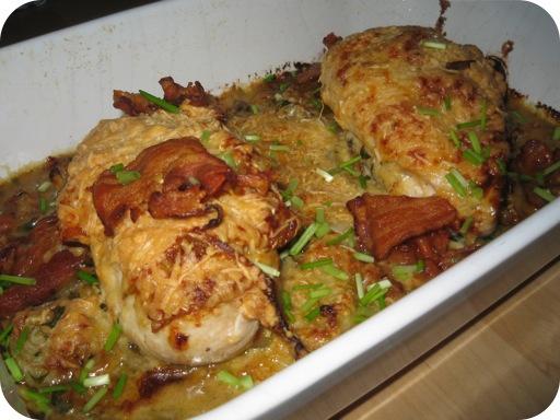 Kipfilet met Uiensaus uit de Oven