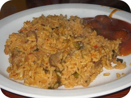 Erwtensoep en Nasi