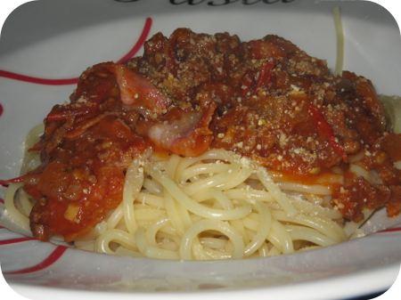 Spaghetti met Tomaat en Kaneel