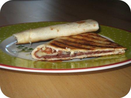 Quesadilla`s met Grison en Kaas
