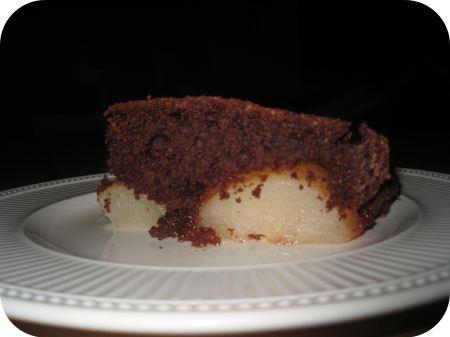 Chocolade Peren Pudding