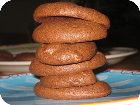 Chocoladekoekjes zonder Bloem