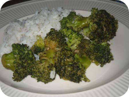 Rijst met Geroerbakte Broccoli