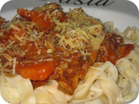 Tagliatelle met Tomatensaus