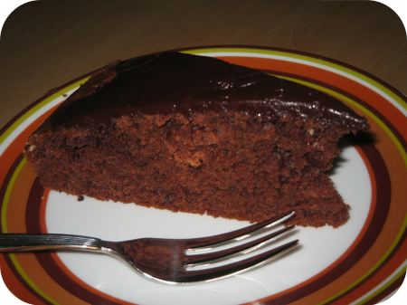 Chocoladetaart met Chocoladeglazuur