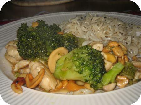 Noedels met Broccoli en Kipfilet