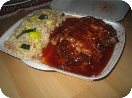 Cafetaria t hoekje veenendaal nasi babi pangang