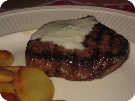 Biefstuk met Gorgonzolasaus