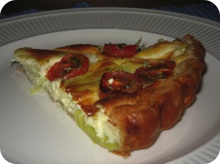 Tomaten Prei Quiche