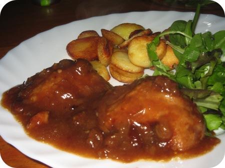 Boulettes Sauce Chasseur