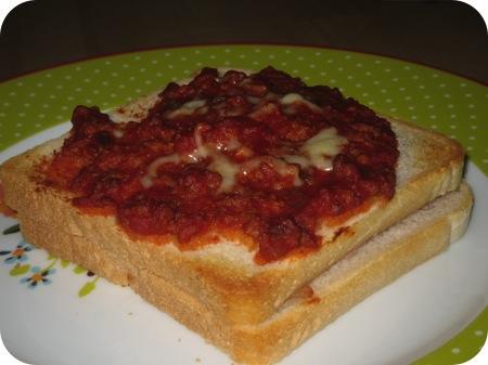 Tosti Bolognese 'Chalet Gruyere'