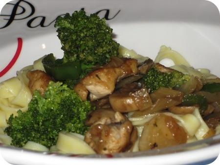 Tagliatelle met Broccoli met Kipfilet