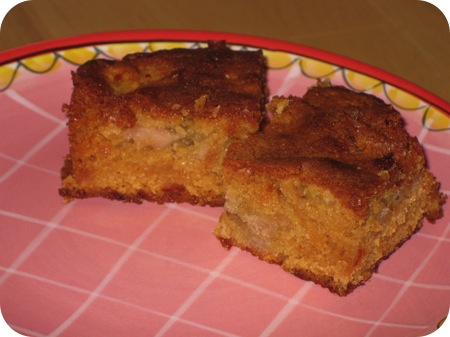 Bananen Caramel Blondies